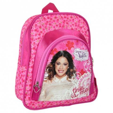 Dětský batoh VIOLETTA dívčí růžový Disney