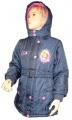 Zimní bunda, kabát - SOFIA - modrá