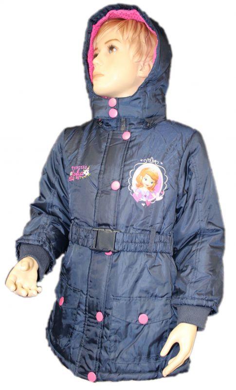 Zimní bunda, kabát - SOFIA - modrá Disney