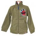 Fleesová mikina - SPIDERMAN-khaki zelená