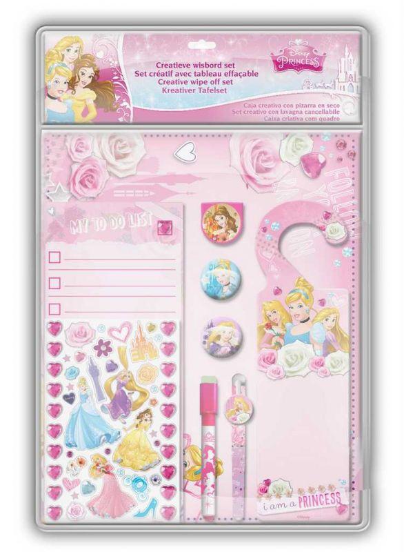 Kreativní sada s tabulí Princess Disney