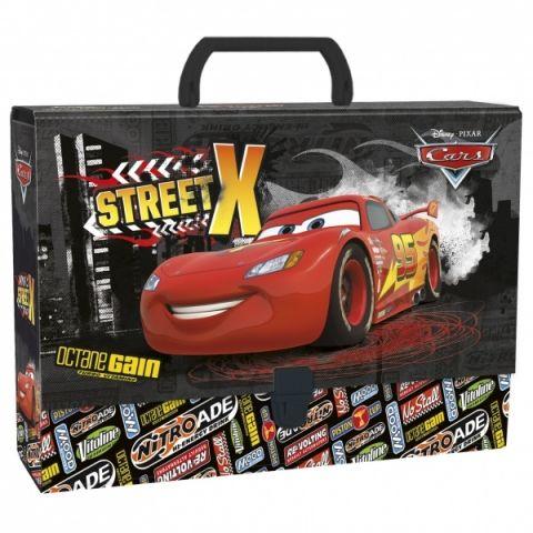 Dětský kufr CARS velikost A4 Disney
