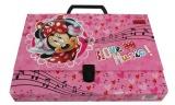 Kufr, kufřík Minnie - světle růžový