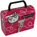 Kufr, kufřík Hello Kitty se zámkem