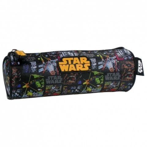 Kulatý penál, pouzdro na tužky STAR WARS Disney