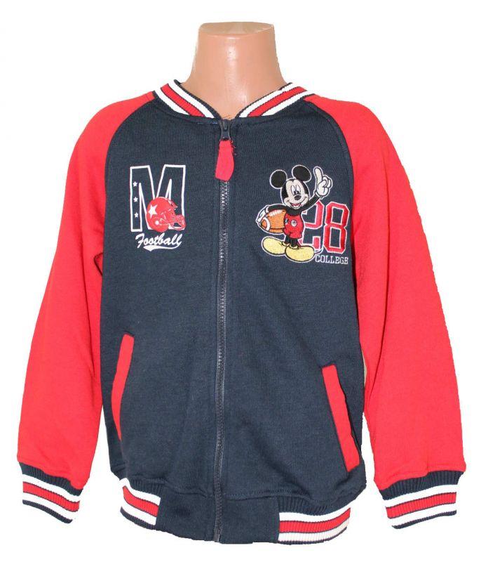 Mikina MICKEY MOUSE - modro-červená Disney