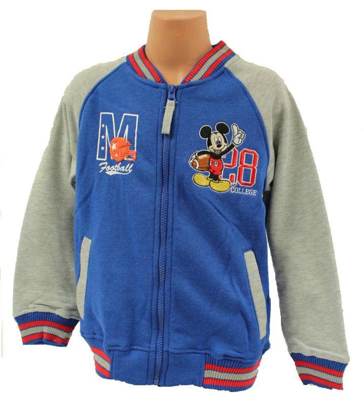 Mikina MICKEY MOUSE - modro-šedá Disney