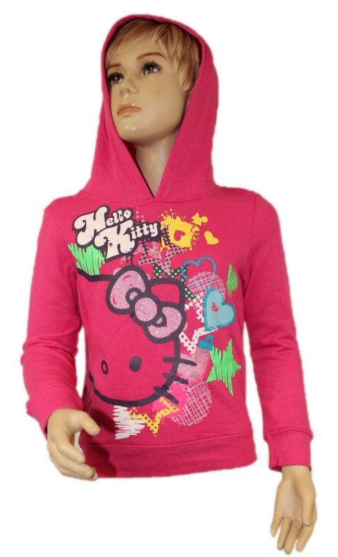 Mikina s kapucí HELLO KITTY - růžová Sanrio