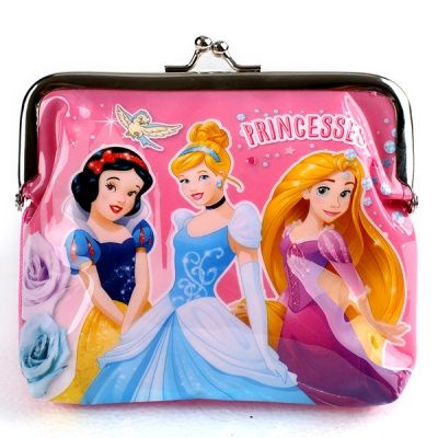 Peněženka s kovovým zapínáním PRINCESS dětská peněženka disney dívčí peněženka s princeznou