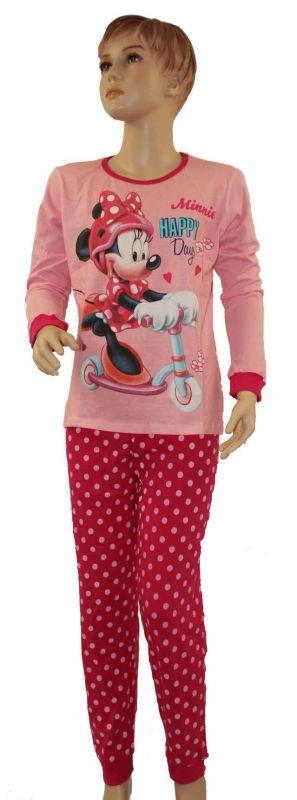 PYŽAMO - MINNIE - světle růžové Disney