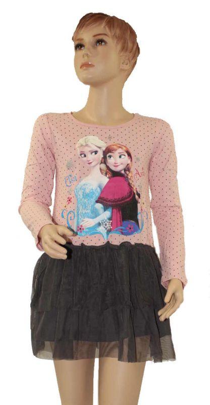 Šaty Frozen s tylovou sukní dětské šaty Frozen dívčí šaty Ledové království Disney
