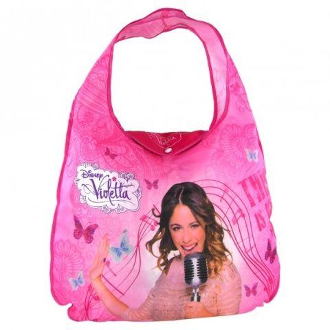 Dětská skládací nákupní taška Violetta dívčí kabelka Violetta Disney