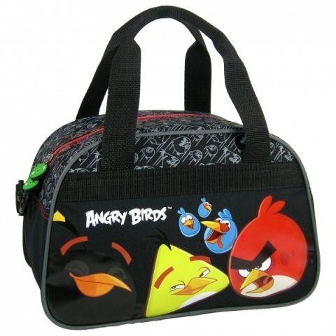 Související zboží - Dětská taška ANGRY BIRDS sportovní černá
