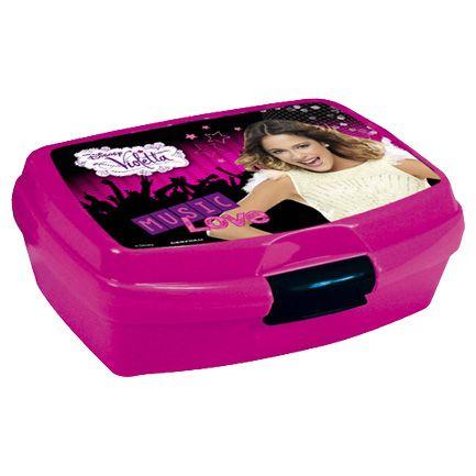 Dětský svačinový box VIOLETTA krabička Disney