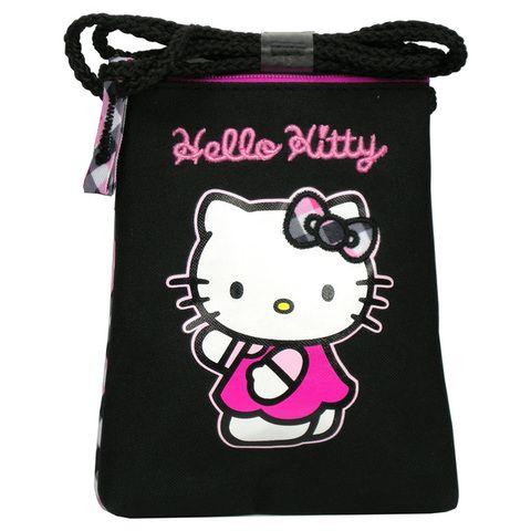 Taštička, pouzdro na krk HELLO KITTY pouzdro na klíče pouzdro na mobil taška na krk kabelka Sanrio