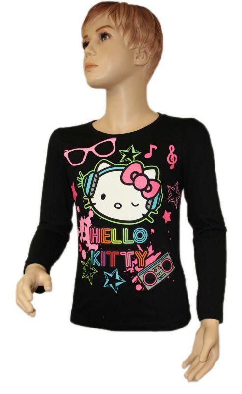 Triko HELLO KITTY - černé Sanrio