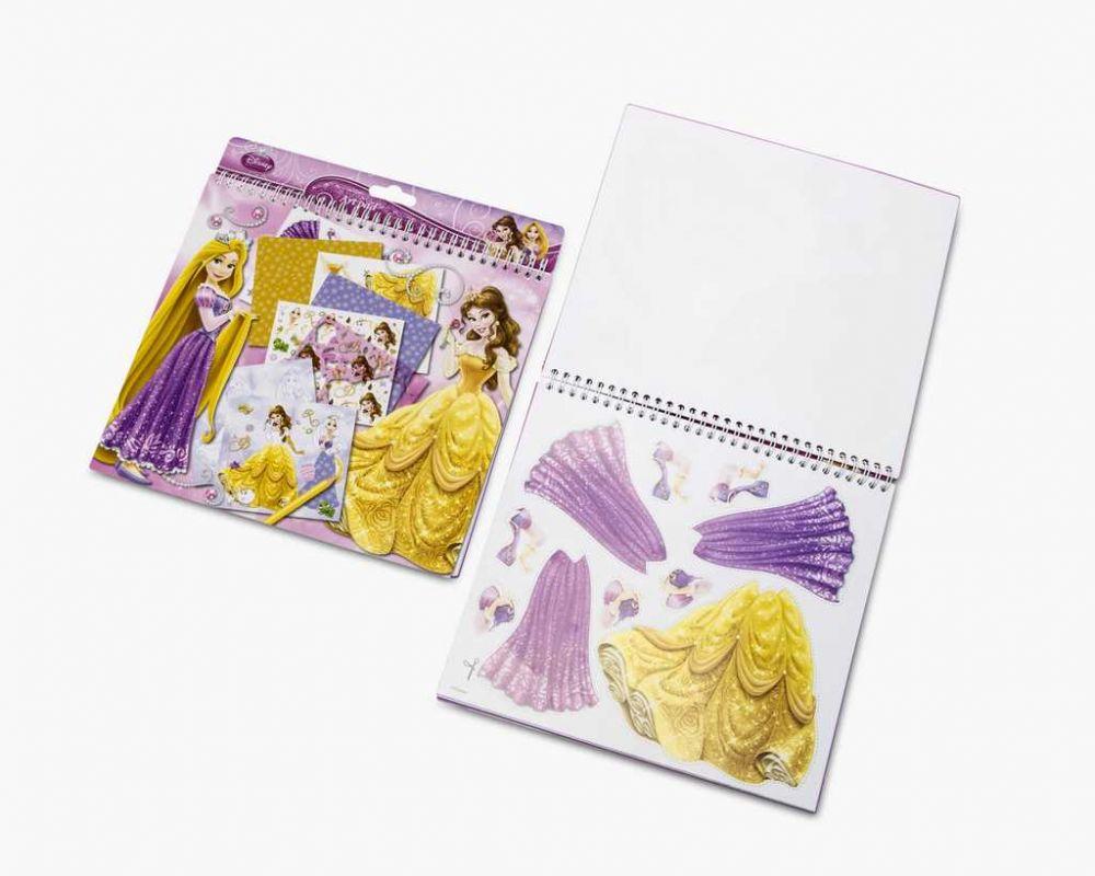 Dětská kreativní sada s princeznou velký set Princess Disney
