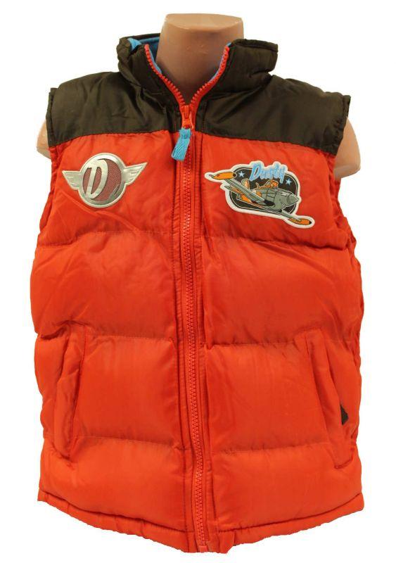 dětská vesta planes, chlapecká vesta, prošívaná vesta Disney