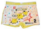Bambusové boxerky - MIMONI - žluté