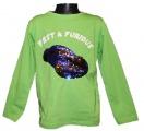 Měnící tričko, triko - dl.rukáv - chlapecké - auto - zelené