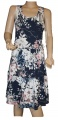 Dámské šaty modro-bílé dívčí šaty