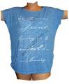 Dámské tričko/tunika s potiskem - sv.modré