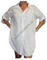 Dámská košile, halenka - bílá - velká