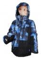 Lyžařská bunda JUST PLAY - černo-modrá - velká