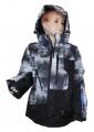 Lyžařská bunda JUST PLAY - černo-bílá - velká