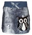 Měnící bavlněná sukně se sovou