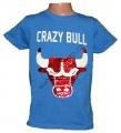 Měnící tričko kr.rukáv - chlapecké - býk - modré 2