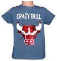 Měnící tričko kr.rukáv - chlapecké - býk - tm.modré 2