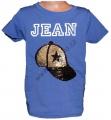 Měnící tričko kr.rukáv - kšilt - fialovo-modré