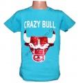 Měnící tričko kr.rukáv - chlapecké - býk - sv.modré