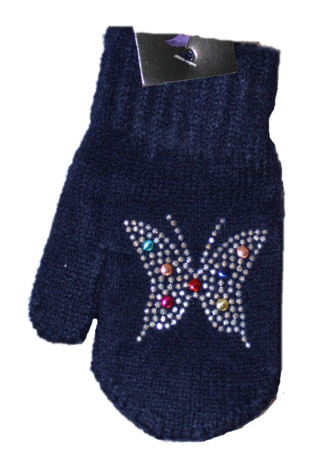 Dětské rukavice dětské palčáky slabé rukavice Orchidej