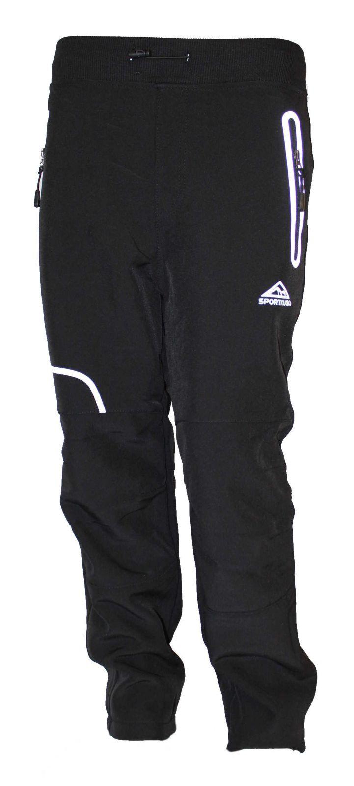 Dětské softshellové kalhoty KUGO, zateplené kalhoty, zimní kalhoty, podzimní kalhoty