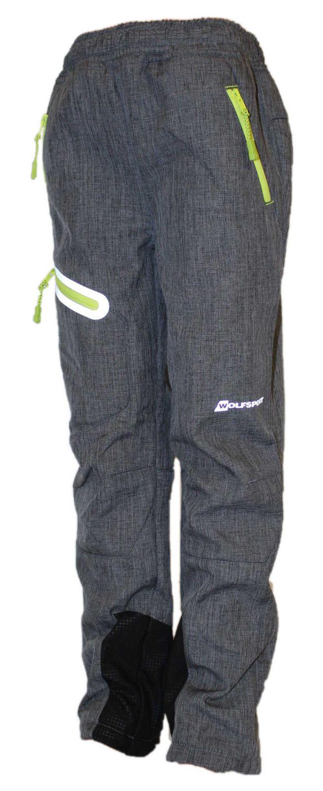 Dětské softshellové kalhoty Wolf zateplené kalhoty Wolf