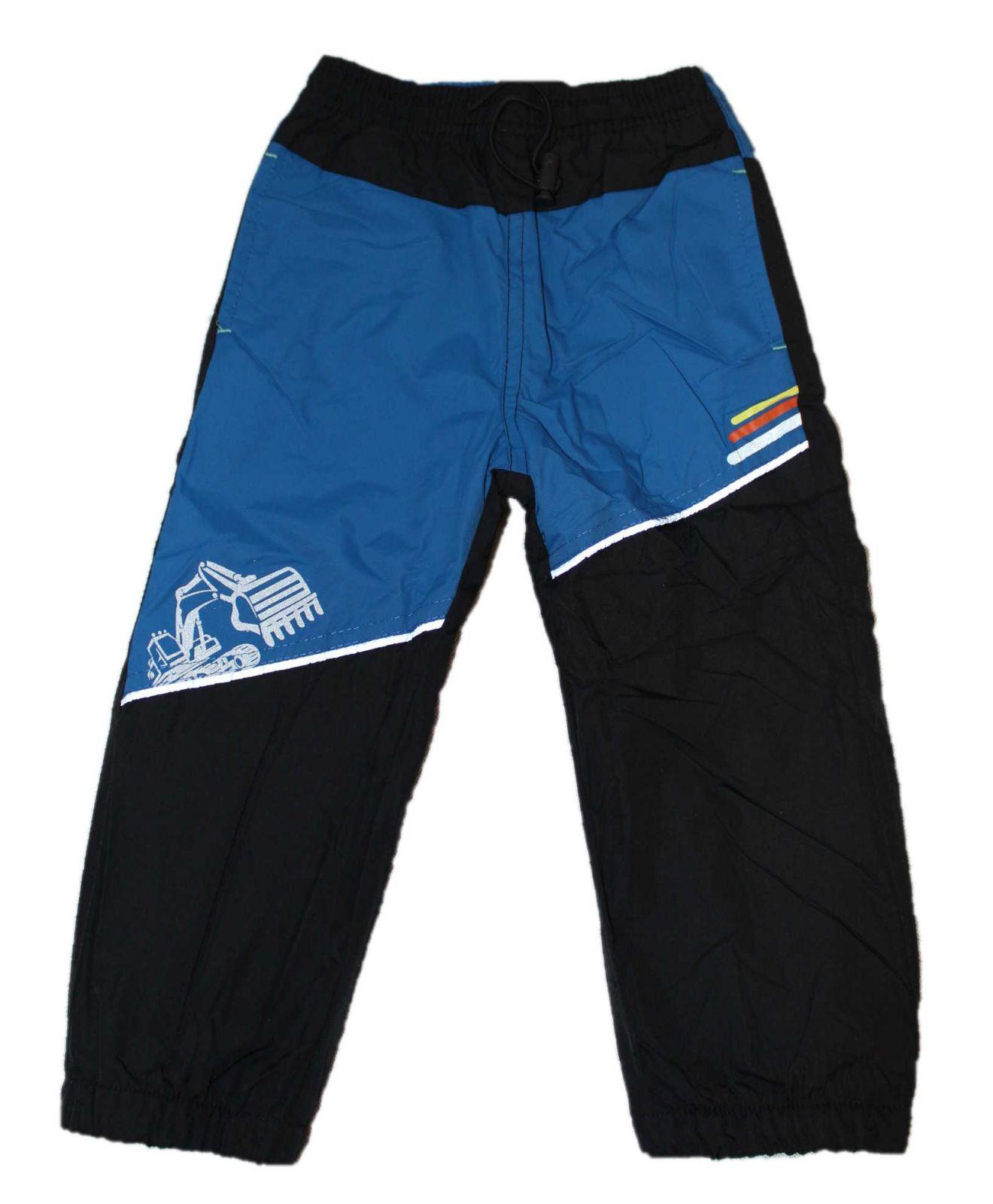 Dětské zateplené šusťákové kalhoty KUGO, jarní kalhoty, podzimní kalhoty