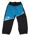 Zateplené šusťákové kalhoty KUGO  - malé - sv.modro-šedé