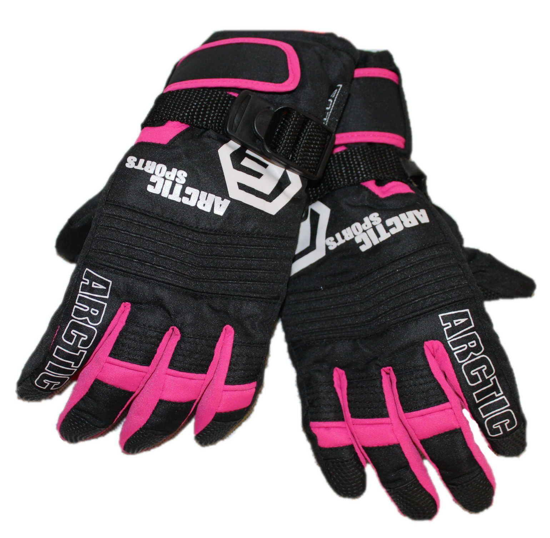 Dětské zimní lyžařské rukavice, lyžařské prstové rukavice ECHT SPORTS