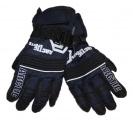 Dětské zimní, lyžařské rukavice - prstové - tmavě modré