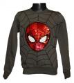 Měnící mikina Spiderman - khaki
