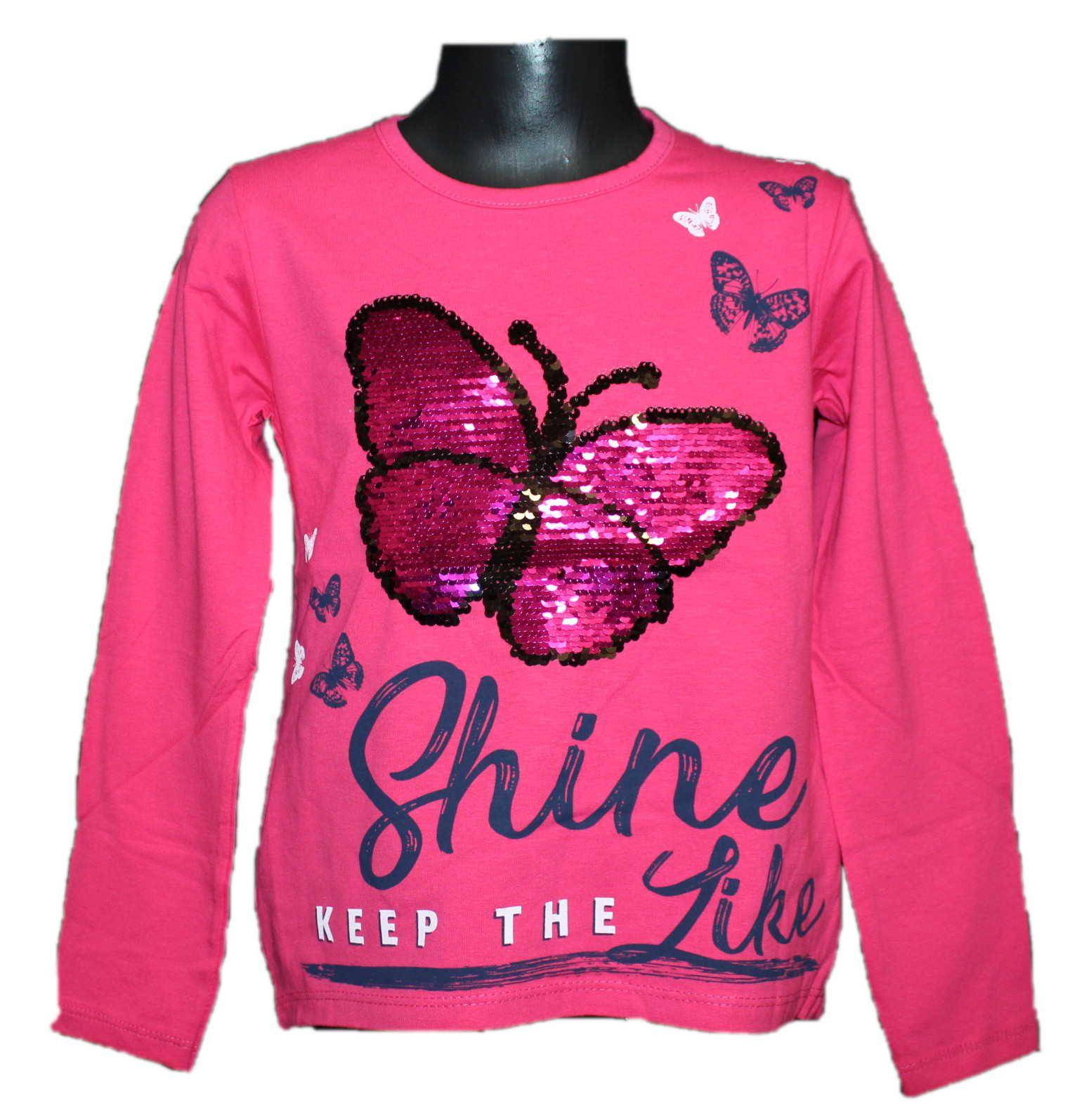 měnící tričko, přeměňovací tričko s motýlem Tomurcuk