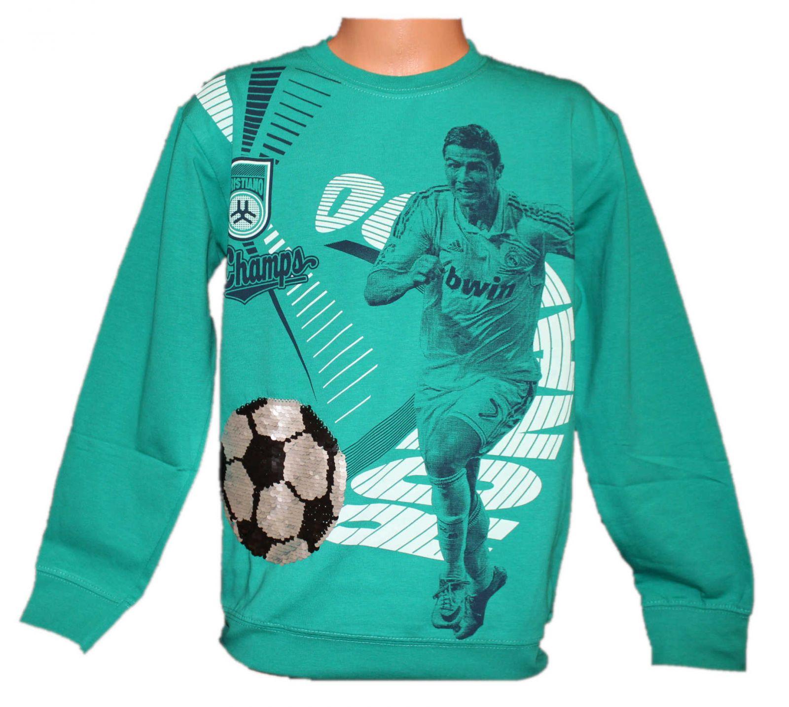 Chlapecké měnící tričko, měnící klučičí triko, přeměňovací tričko, Ronaldo Raceway