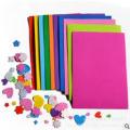 Pěnový papír do slizu, foam paper A4 - tm. fialový