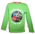 Blikací tričko Ninja Go - zelené