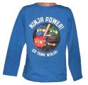 Blikací tričko Ninja Go - modré