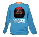 Měnící tričko, triko - dl.rukáv - chlapecké - NINJA GO - sv.modré