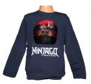 Měnící tričko, triko - dl.rukáv - chlapecké - NINJA GO - tm.modré