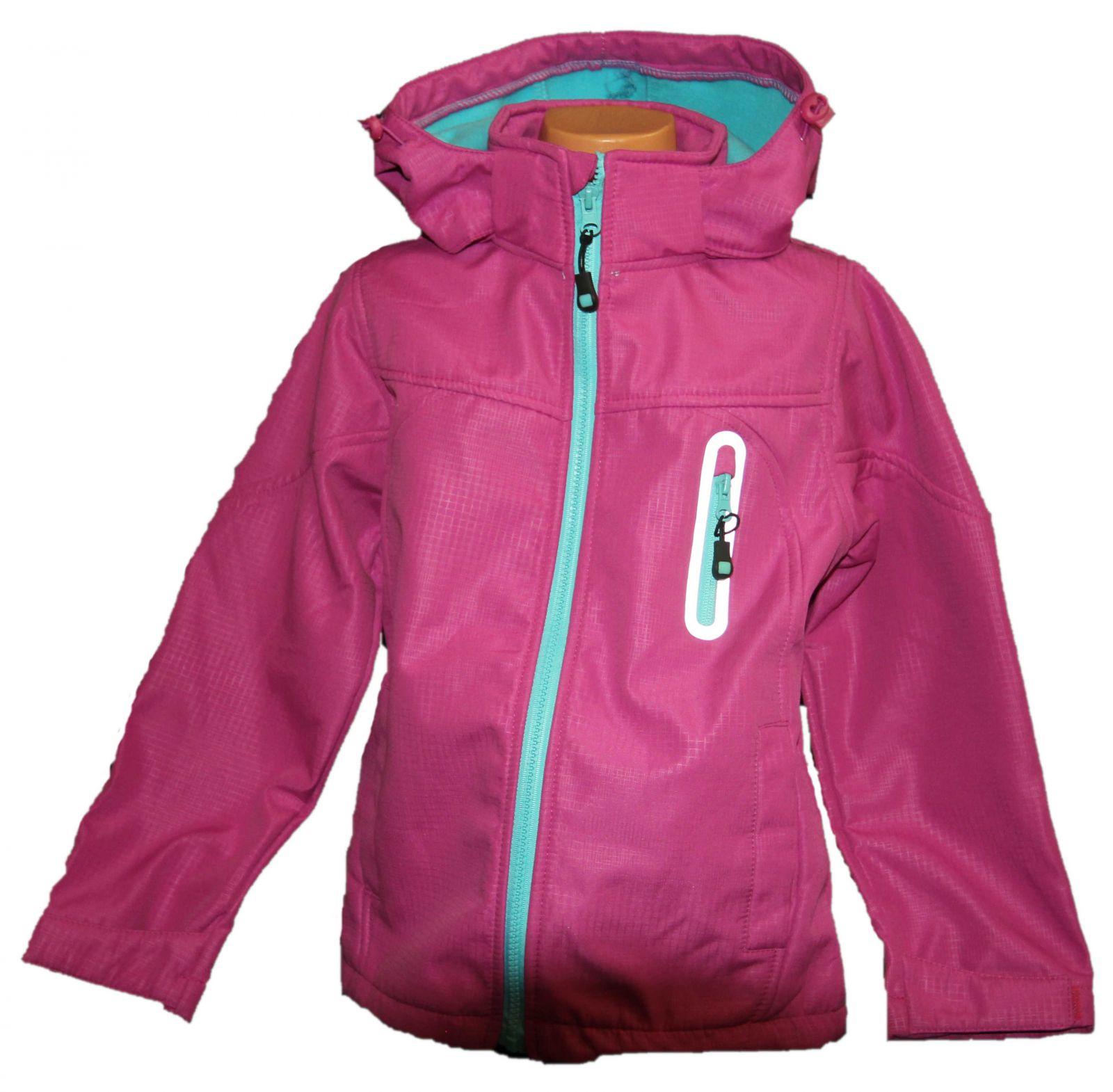 Dětská jarní softshellová bunda Grace, dívčí softshellová bunda, jarní bundy, podzimní bunda